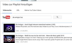 youtube playlist erstellen