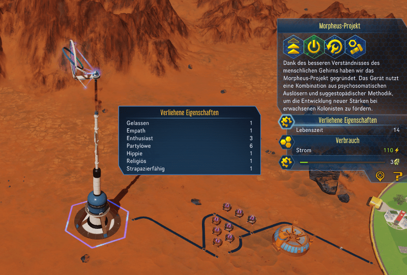 surviving mars morpheus projekt