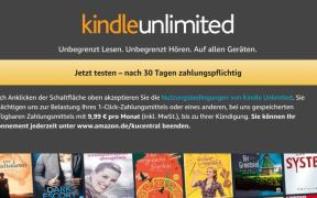 kindle unlimited kosten
