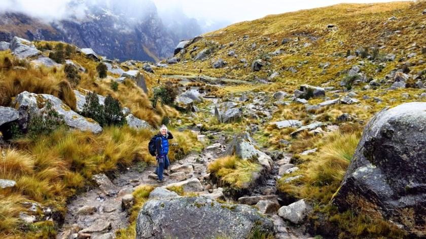 Santa Cruz Trek Peru: Auf zum Camp