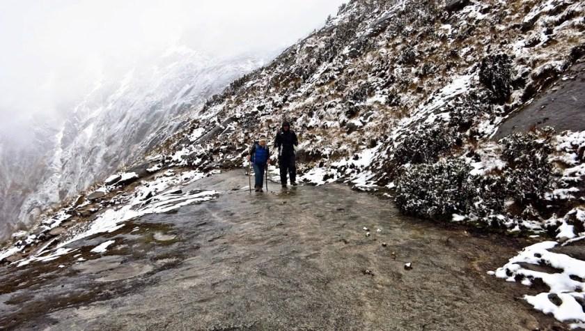 Santa Cruz Trek Peru: Aufstieg zum Punta Union Pass