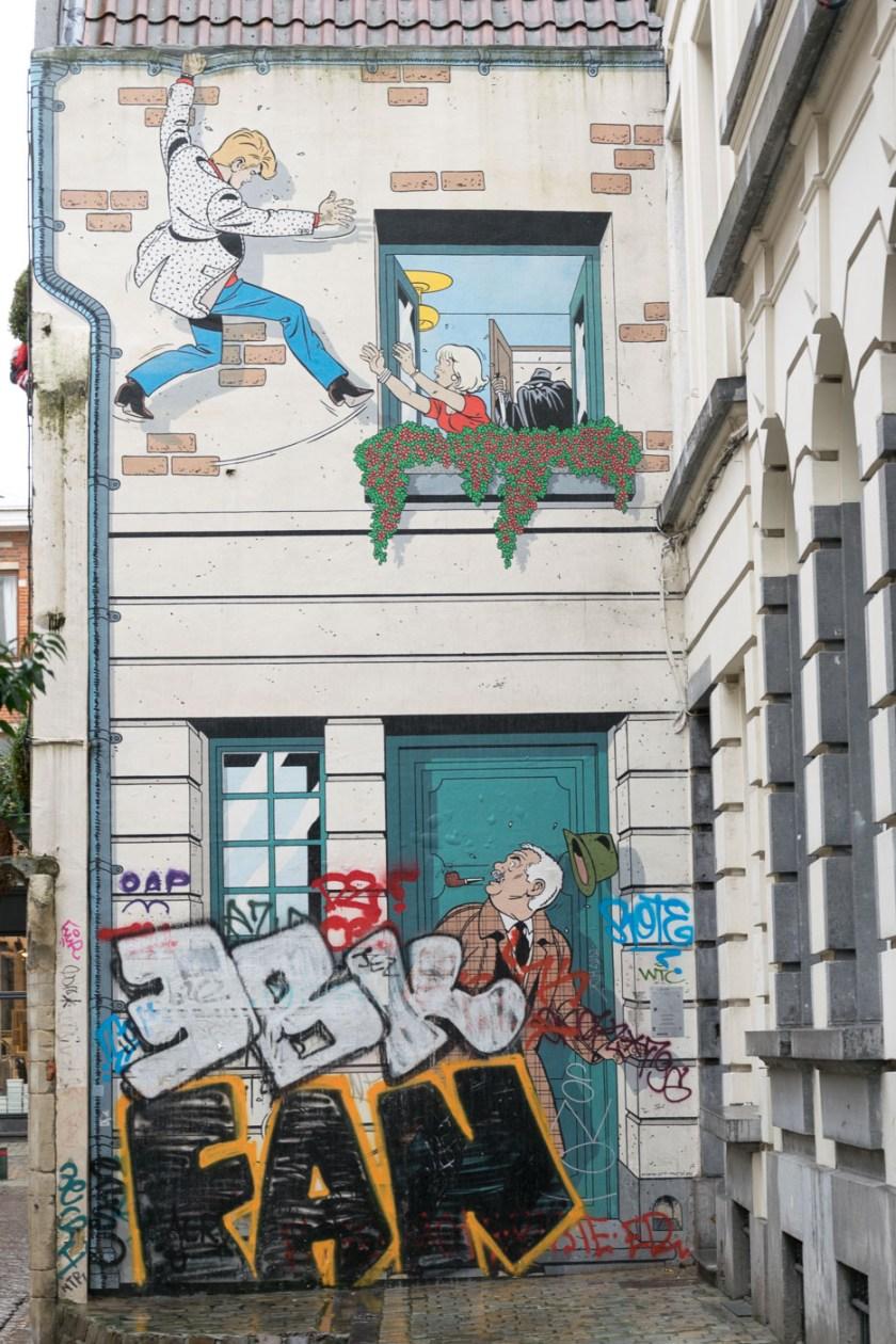 bruessel comics streetart graffiti