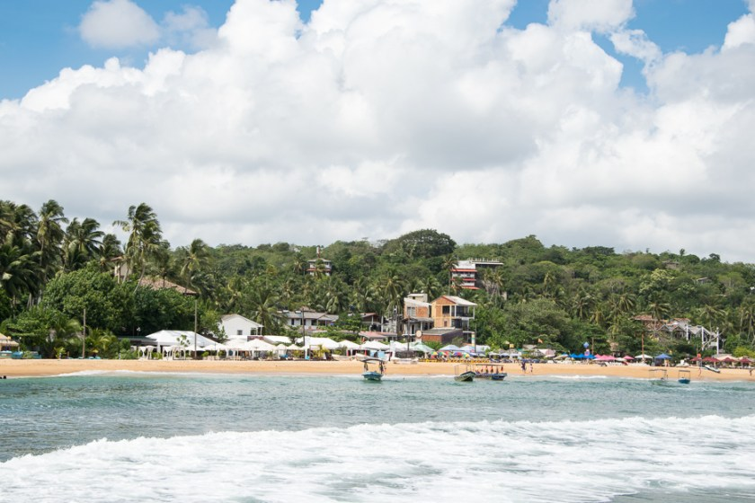 Strände auf Sri Lanka: Unawantuna Beach