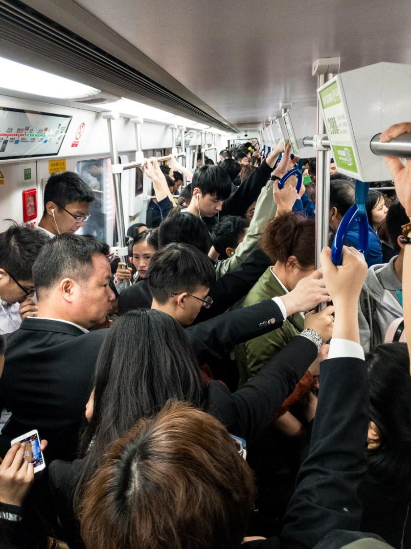 Metro U Bahn Shenzhen China