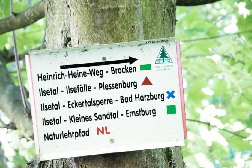 Heinrich Heine Weg Harz Brocken Wanderung