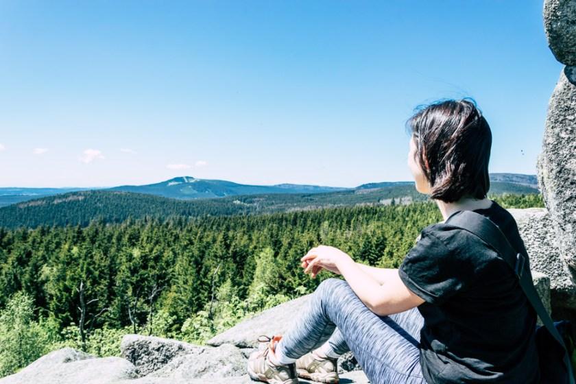 Aussicht Leistenklippe Harz Aylin Today We Travel Reiseblog