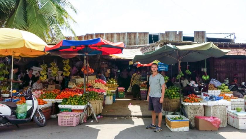 Markt Kambodscha