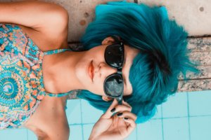 Woman Blue Single