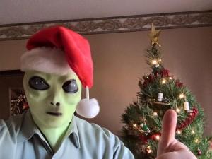 Todd in Alien Mask