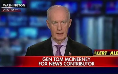 Lt. Gen. Tom McInerney. Must watch. Important to know…