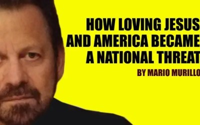 HOW LOVING JESUS AND AMERICA BECAME A NATIONAL THREAT.