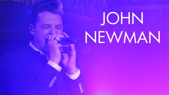 John Newman & Chasing Grace for HP Connect Music