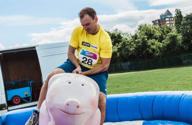 0014 Pig - Giff Gaff Money Fit Challenge