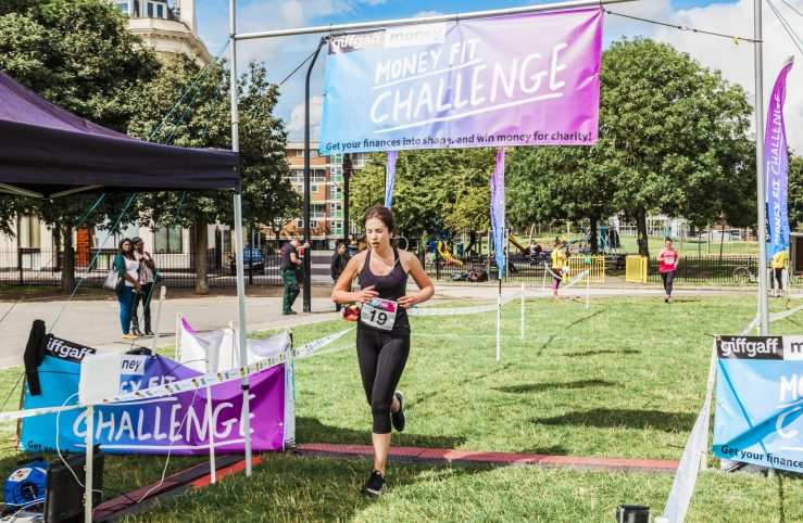 0021 Finish Line - Giff Gaff Money Fit Challenge