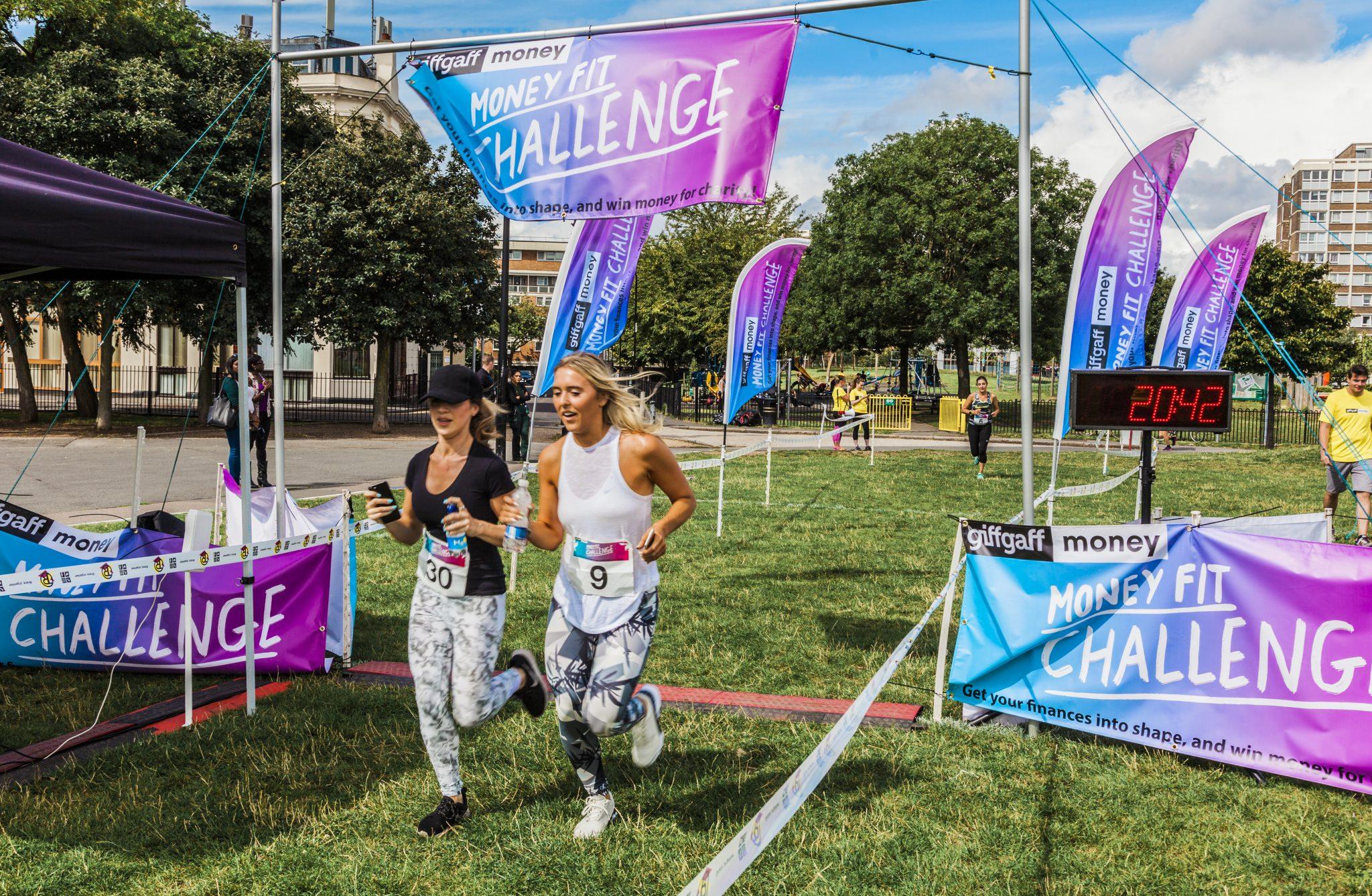 0030 Finish Line - Giff Gaff Money Fit Challenge