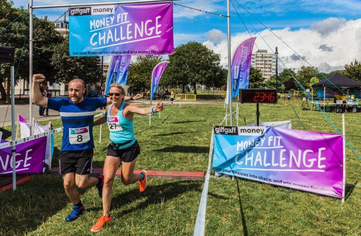 0043 Finish Line - Giff Gaff Money Fit Challenge