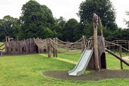 Farnham Park Adventure Play Area, Farnham, Surrey