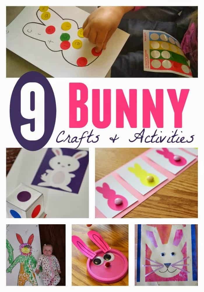 9 Bunny Crafts And Activities For Toddlers And Preschoolers Toddler Approved
