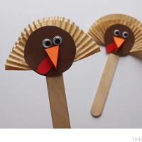 Turkey Puppets (Quick video tutorial)