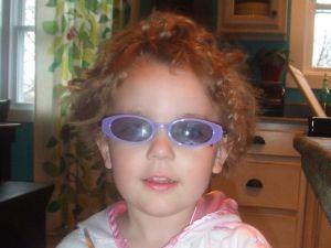 Aubrie's prescription sunglasses from Zenni.com