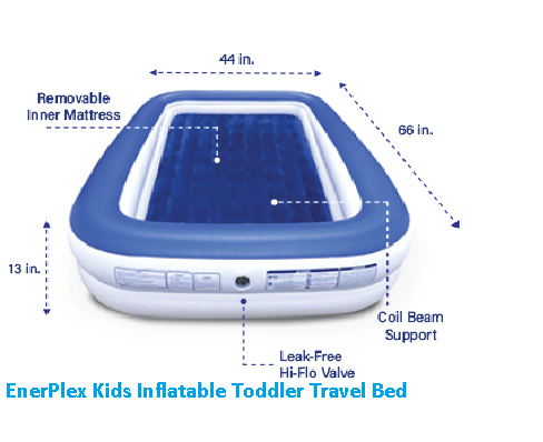 EnerPlex Kids Inflatable Travel Bed