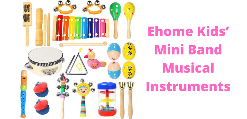 Ehome Kids' Mini Band Musical Instruments