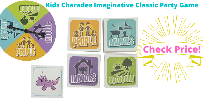 Kids Charades Imaginative Classic Party Game