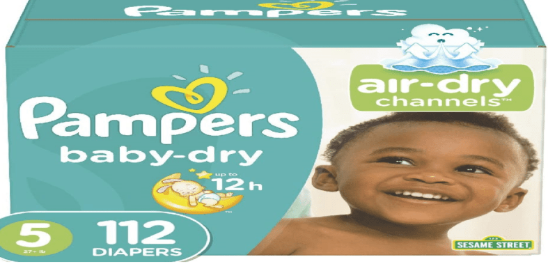 Pampers Baby Dry- Best All in One