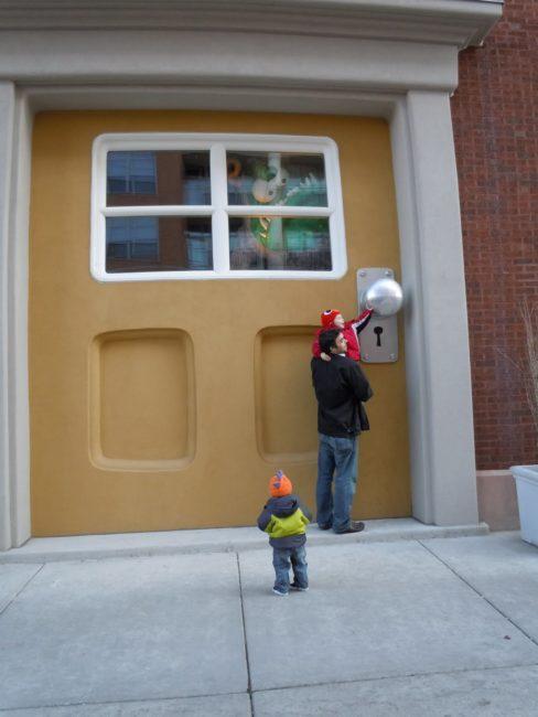 & Big Monster Door - Toddling Around Chicagoland