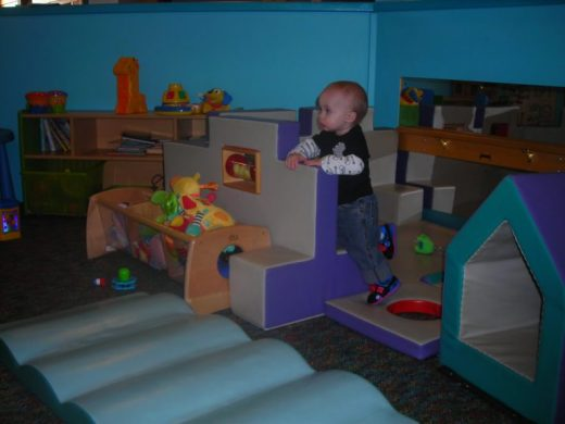 Children's Museum in Oak Lawn - Tummy Time - Toddling Around Chicagoland