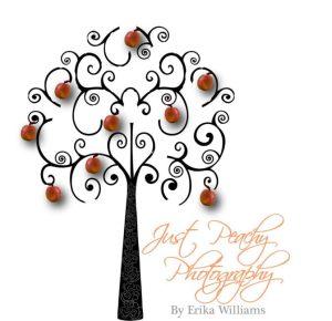 Just Peachy photography logo