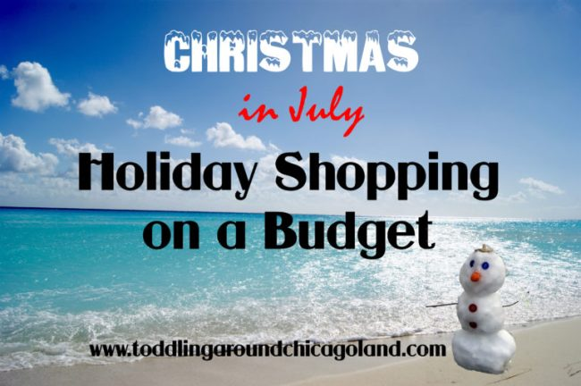 Holiday Shopping on a Budget - Toddling Around Chicagoland