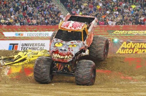 Monster Jam monster truck - Zombie
