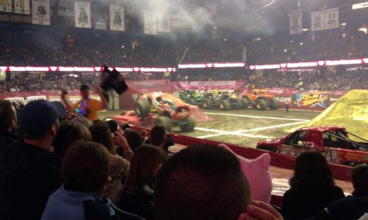 Monster Jam 1 - Toddling Around Chicagoland