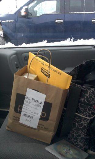 Walgreens Web Pickup - bag - Toddling Around Chicagoland #HappyHealthy #CBias