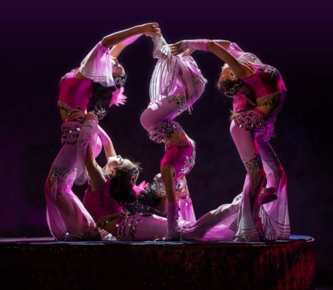Cirque Shanghai Group Contortion 2
