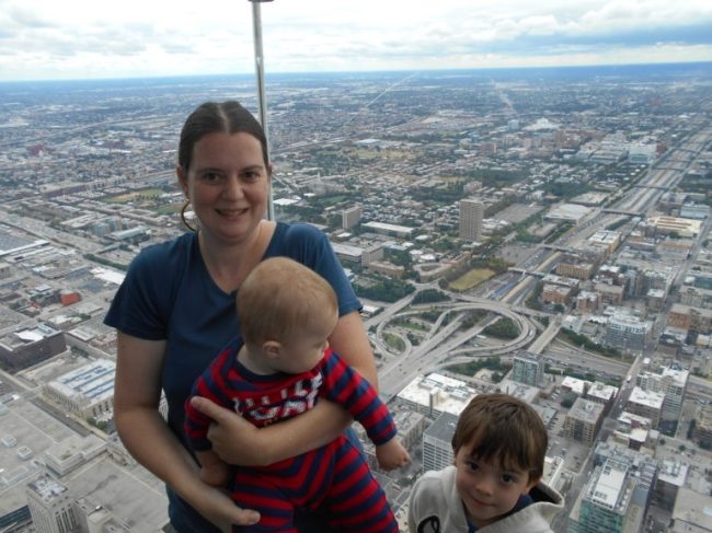 Skydeck Chicago - Toddling Around Chicagoland