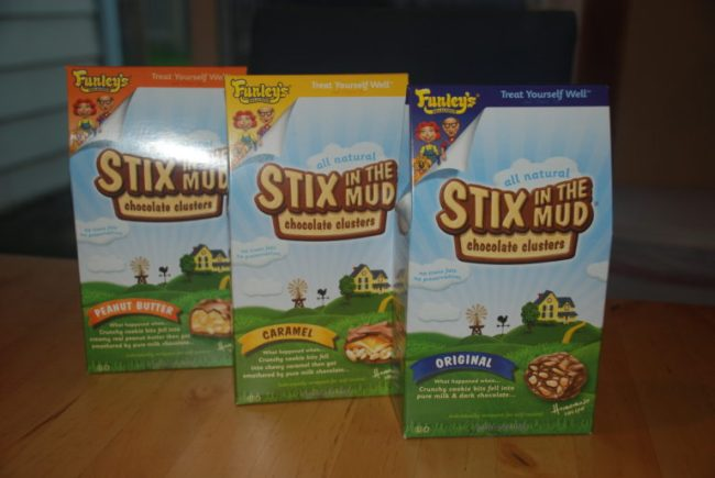 Stix in the Mud Make Trick-or-Treating Better