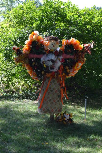 Scarecrow Trail at The Morton Arboretum - Toddling Around Chicagoland