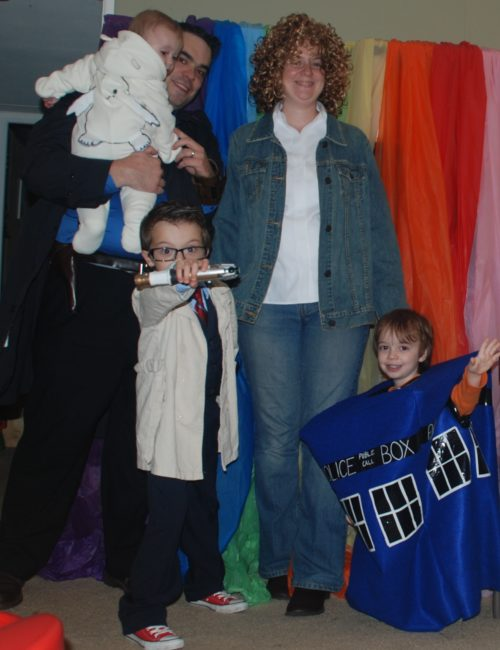 Halloween, Doctor Who Style - Toddling Around Chicagoland