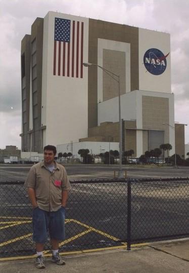 #MarriottVacay - John at NASA - Toddling Around Chicagoland
