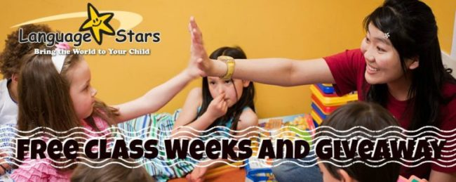 Language Stars Offers Free Class Weeks - Toddling Around Chicagoland
