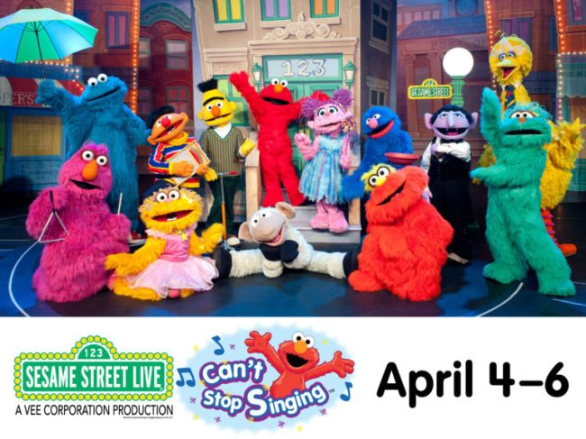 Sesame Street Live - Toddling Around Chicagoland