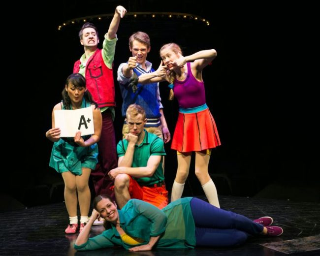 Schoolhouse Rock Live! Rose Le Tran, Jackson Evans, Holly Stauder, Zachary L. Gray, Brian Bohr and Brandi Wooten