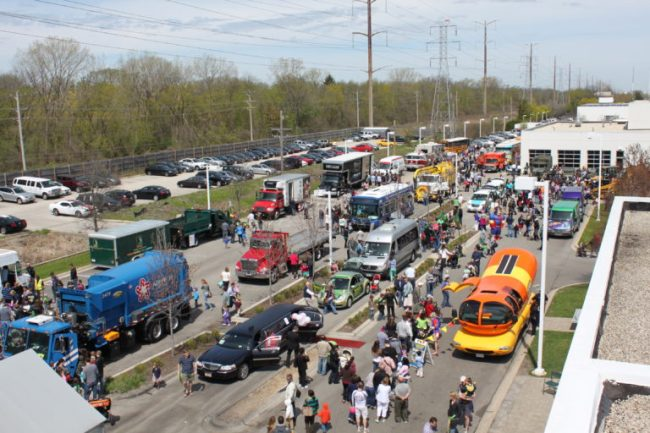 Kohl Children's Museum Touch A Truck - Toddling Around Chicagoland