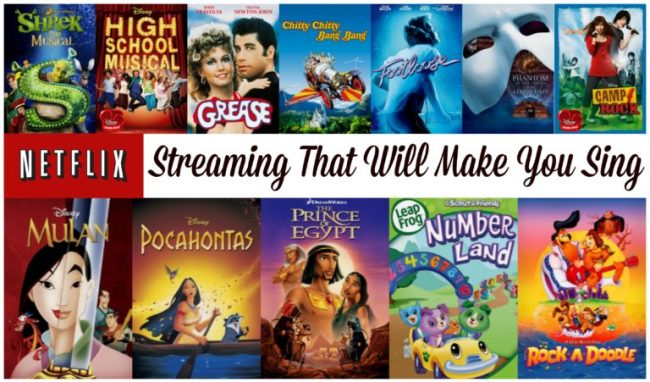 Netflix Streaming That Will Make You Sing