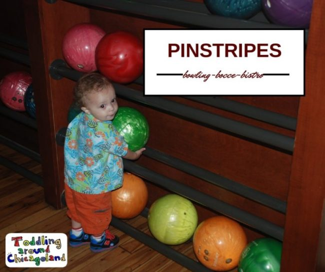 Pinstripes - Toddling Around Chicagoland - #PintasticFun
