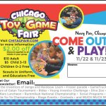 Chicago Toy & Game Fair 2014 Giveaway #1