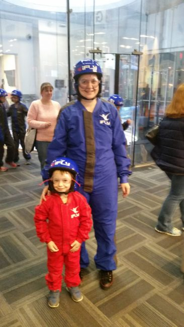 iFly Chicago - Toddling Around Chicagoland
