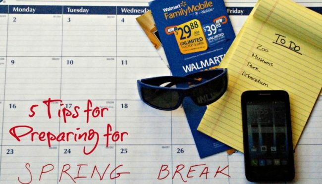 5 Tips for Preparing for Spring Break #MarchIntoSavings #cbias #ad